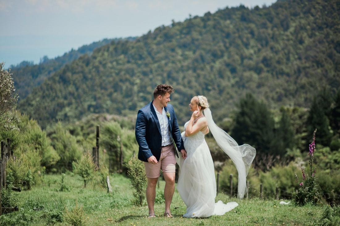 Coromandel Thames wedding photographers